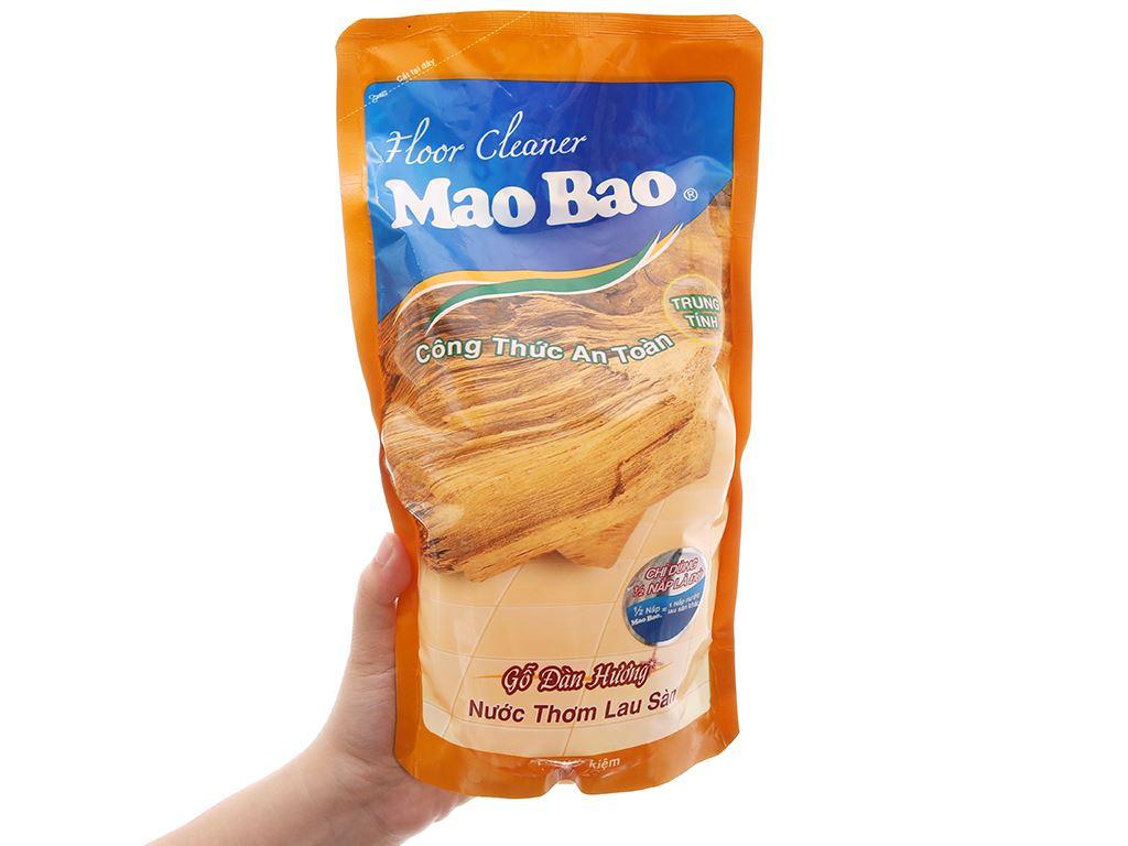 Nước lau sàn Mao Bao gỗ Đàn Hương 1L 5
