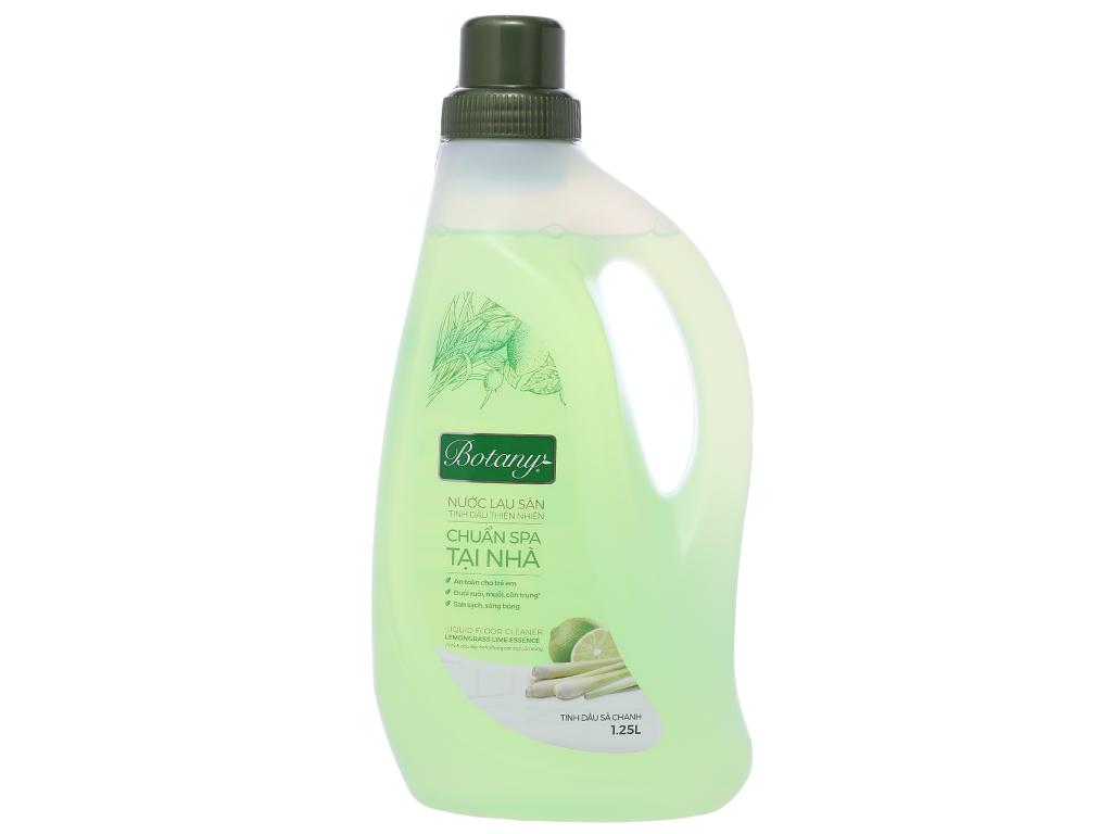 Nước lau sàn nhà Botany tinh dầu sả chanh chai 1.25 lít 1