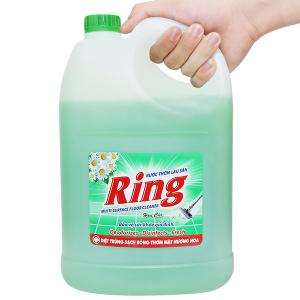 Nước lau sàn Ring hương hoa cúc can 3.8kg