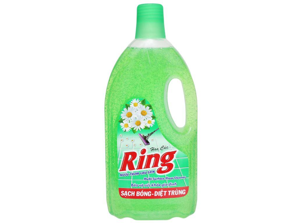 Nước lau sàn Ring hương hoa cúc chai 1kg 1