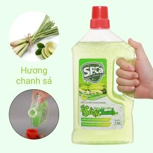 Nước lau sàn S.P.Ca. hương sả và chanh 1 lít