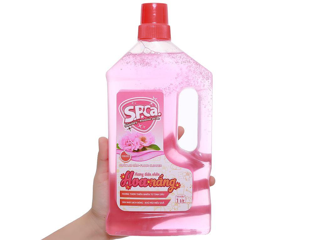 Nước lau sàn S.P.Ca. hoa nắng 1 lít 5