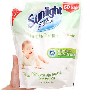 Nước lau sàn Sunlight hương thiên nhiên túi 2.6kg
