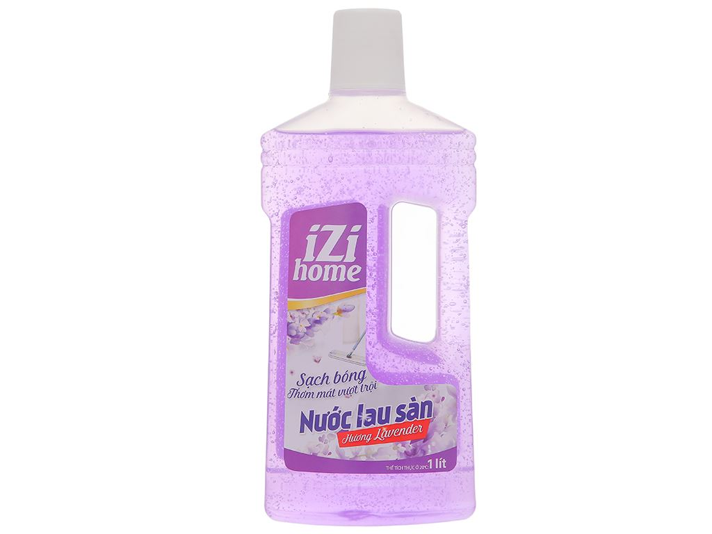 Nước lau sàn nhà IZI HOME hương lavender chai 1 lít 1