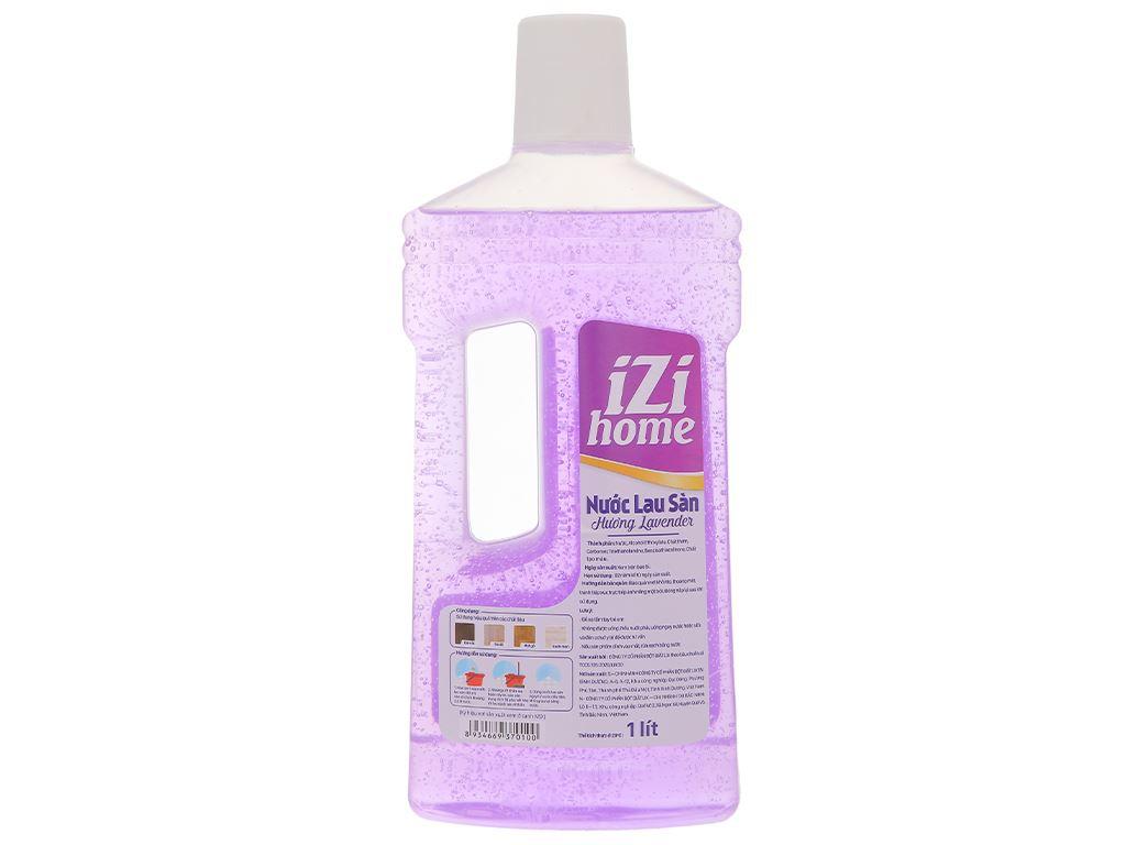 Nước lau sàn nhà IZI HOME hương lavender chai 1 lít 2