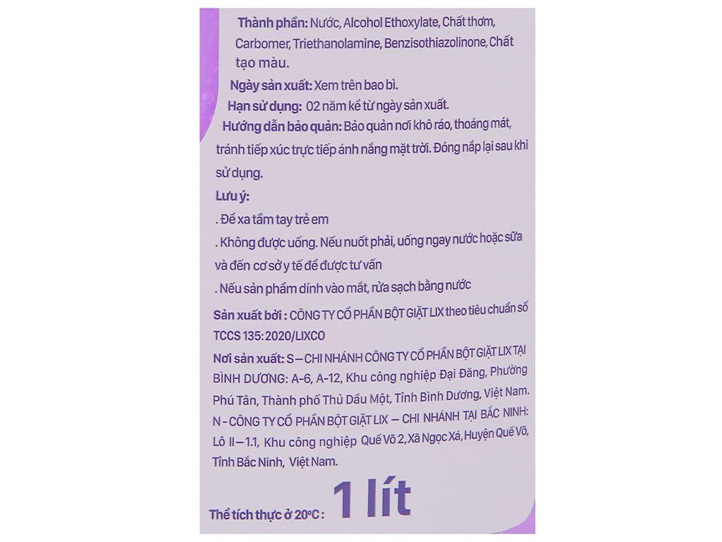 Nước lau sàn nhà IZI HOME hương lavender chai 1 lít 3