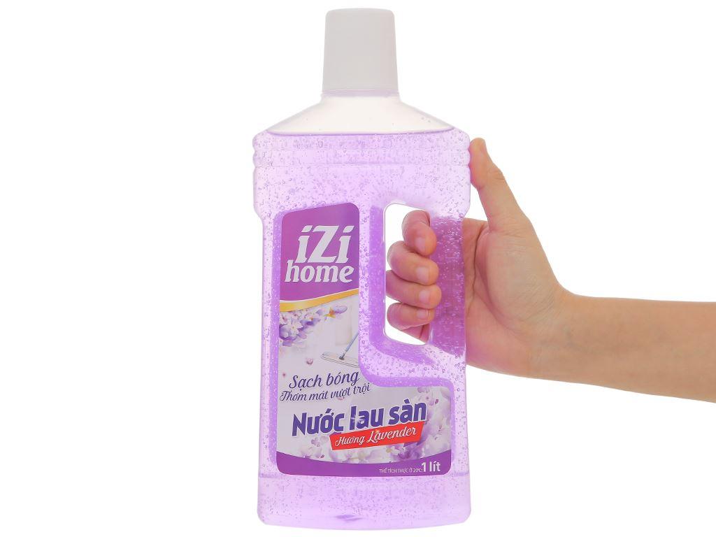 Nước lau sàn nhà IZI HOME hương lavender chai 1 lít 4