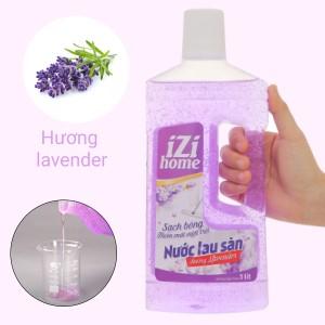 Nước lau sàn IZI HOME hương lavender chai 1 lít