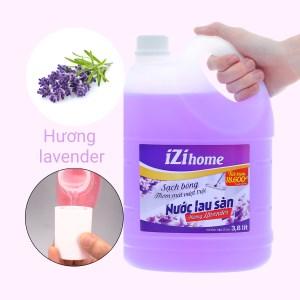 Nước lau sàn IZI HOME hương lavender can 3.8 lít