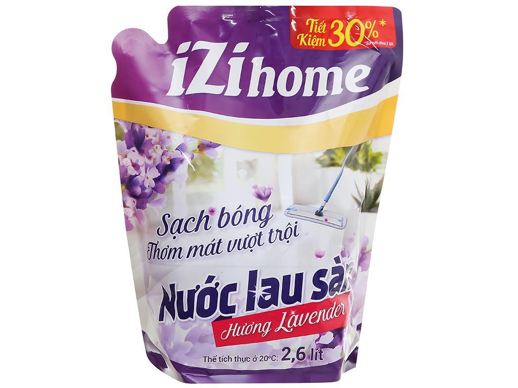 Nước lau sàn IZI HOME hương lavender túi 2.6 lít 1