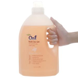 Nước lau sàn On1 tinh dầu đinh hương và hoắc hương chai 2.7 lít