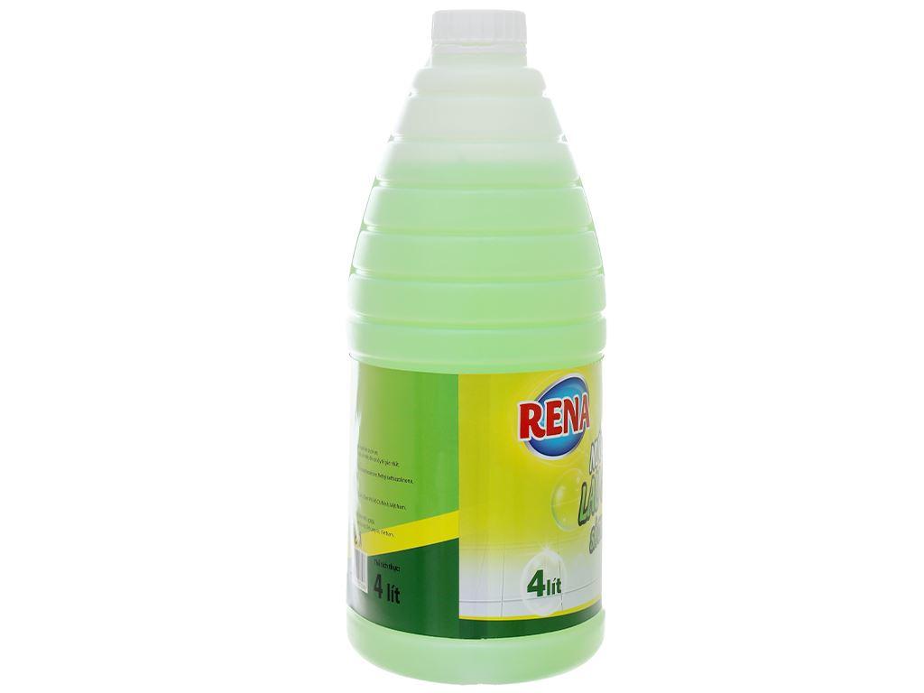 Nước lau sàn nhà Rena hương sả và chanh can 4 lít 3