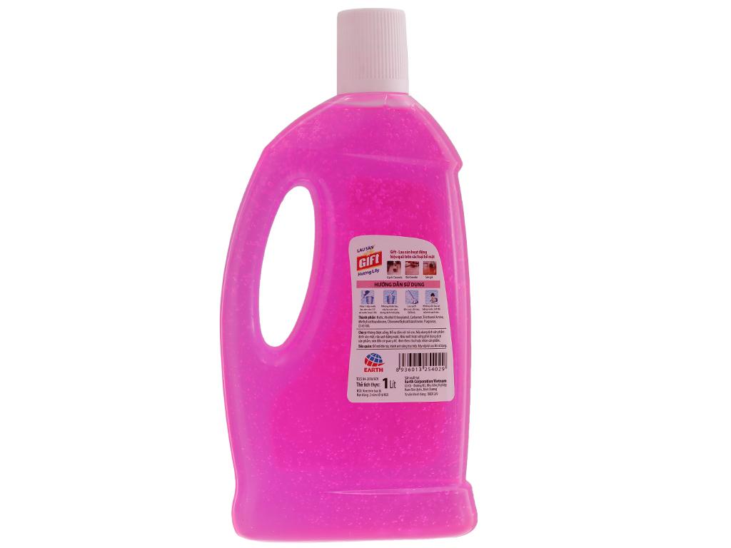 Nước lau sàn Gift hương hoa lily chai 1 lít 3