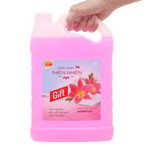 Nước lau sàn Gift hương hoa lily can 3.8kg