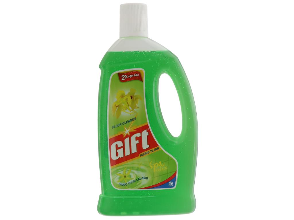 Nước lau sàn Gift 2X đậm đặc hương Ylang 1L 2