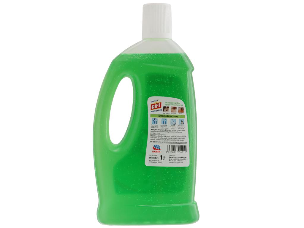 Nước lau sàn Gift 2X đậm đặc hương Ylang 1L 3