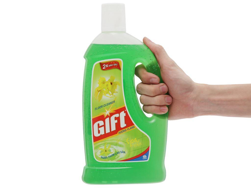 Nước lau sàn Gift 2X đậm đặc hương Ylang 1L 5