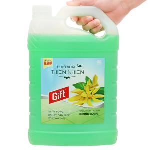 Nước lau sàn Gift hương ylang can 3.8kg