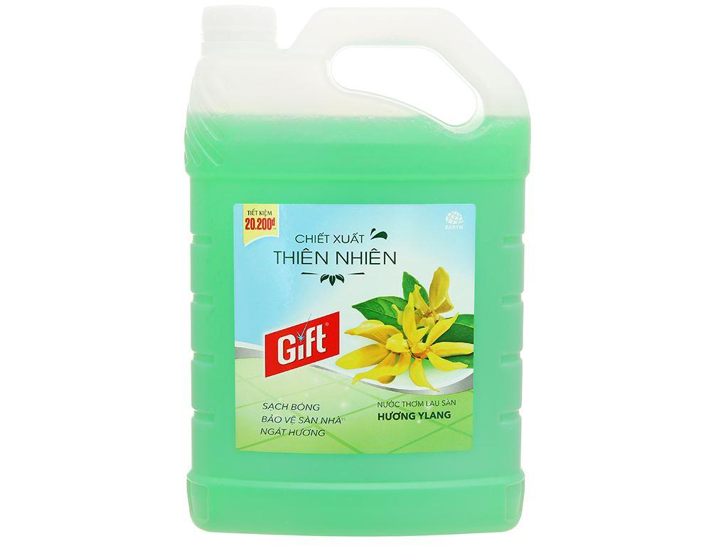 Nước lau sàn Gift hương ylang can 3.8kg 1