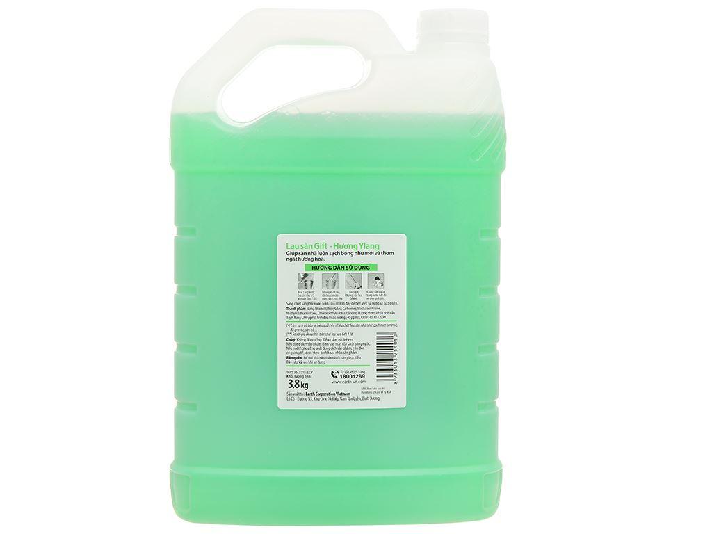 Nước lau sàn Gift hương ylang can 3.8kg 2