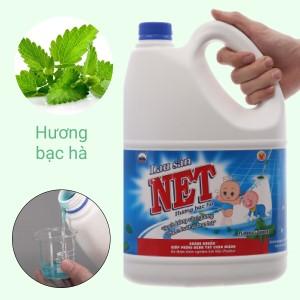 Nước lau sàn NET hương bạc hà can 4kg