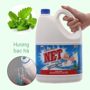 Nước lau sàn nhà NET hương bạc hà can 4kg