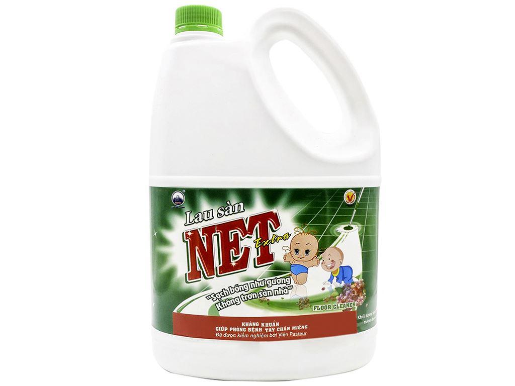 Nước lau sàn NET Extra can 4kg 1