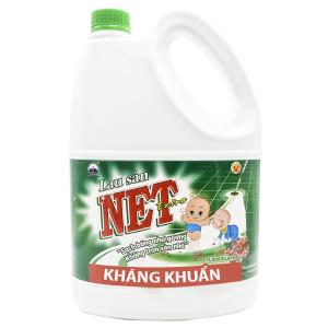 Nước lau sàn NET Extra Diệt khuẩn 4kg