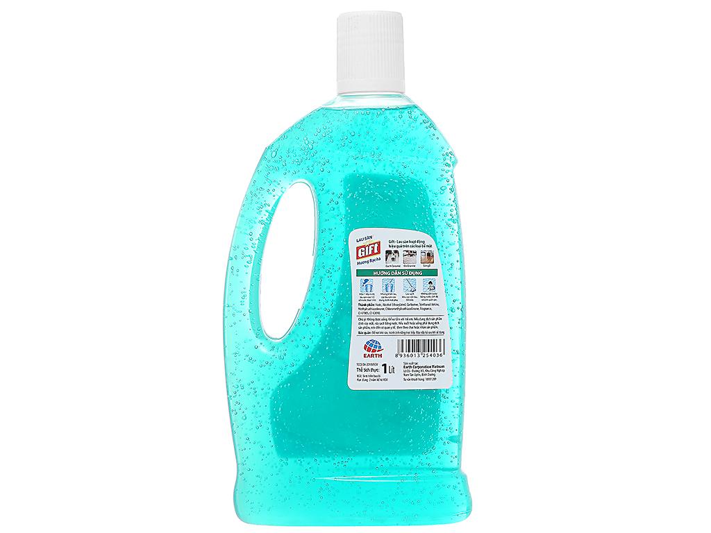 Nước lau sàn Gift hương Bạc Hà 1L 2