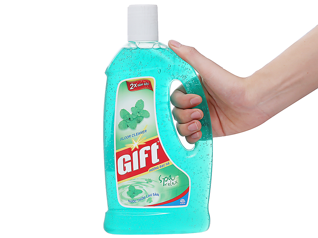 Nước lau sàn Gift hương Bạc Hà 1L 3