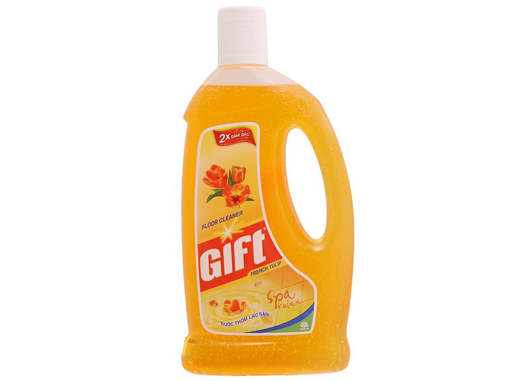 Nước lau sàn Gift hương Tulip 1L 2