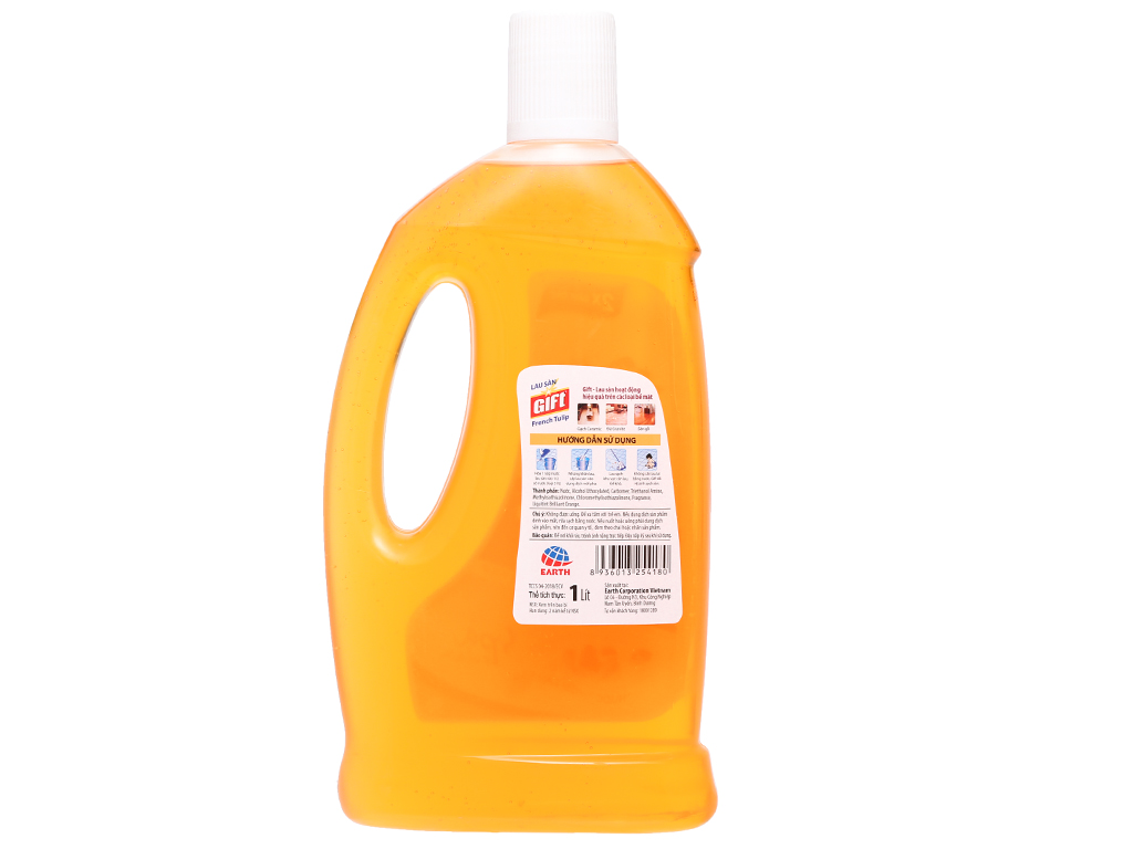 Nước lau sàn Gift hương tulip chai 1 lít 2