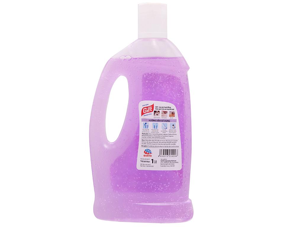 Nước lau sàn Gift hương hoa Lan 1L 3