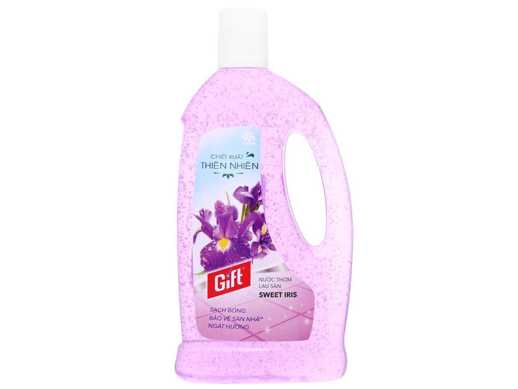 Nước lau sàn Gift hương hoa lan chai 1 lít 6