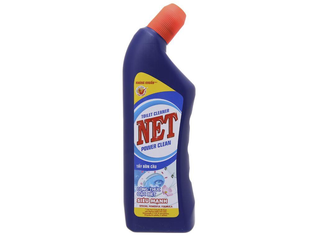 Nước tẩy bồn cầu NET tẩy siêu mạnh 500g 1