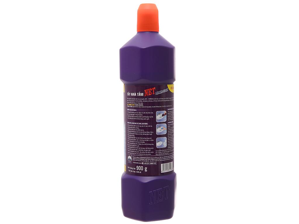 Nước tẩy nhà tắm NET Power Clean 900g 3