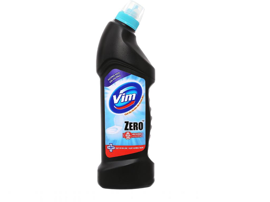Nước tẩy bồn cầu VIM Zero hoa oải hương 750ml 2