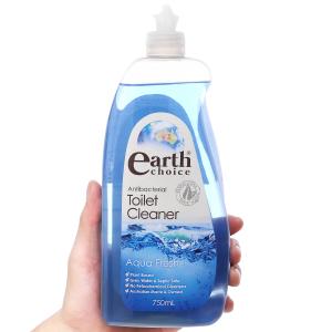 Nước tẩy nhà tắm Earth Choice Aqua Fresh tinh dầu bạch đàn 750ml