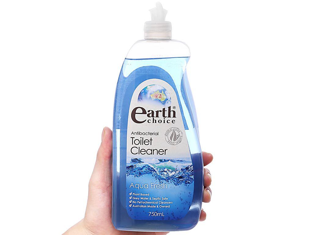 Nước tẩy bồn cầu Earth Choice tinh dầu bạch đàn 750ml 3