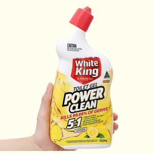 Gel vệ sinh tolet White King hương chanh 700ml