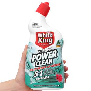 Nước tẩy nhà tắm White King Power Clean tinh dầu khuynh diệp 700ml