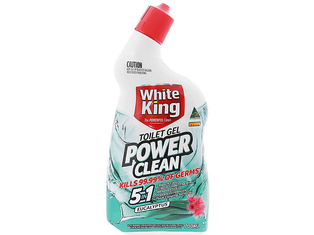 Gel vệ sinh tolet White King hương tinh dầu khuynh diệp 700ml 1