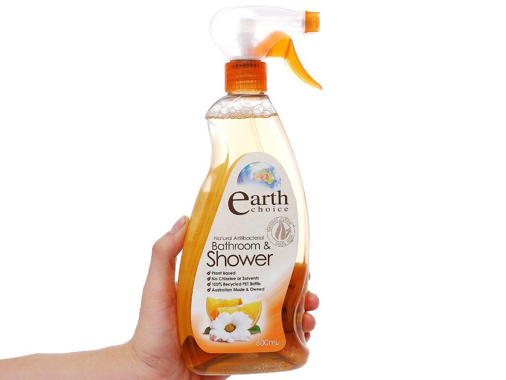 Nước tẩy nhà tắm Earth Choice hương chanh 600ml 3