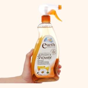 Nước tẩy nhà tắm Earth Choice hương chanh 600ml