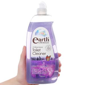 Nước tẩy bồn cầu & nhà tắm Earth Choice hương hoa oải hương 750ml
