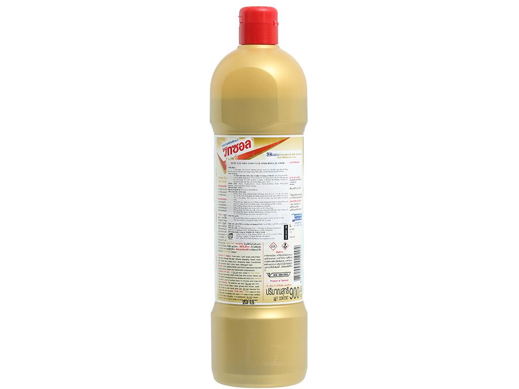 Nước tẩy bồn cầu & nhà tắm Vixol Gold 900ml 2