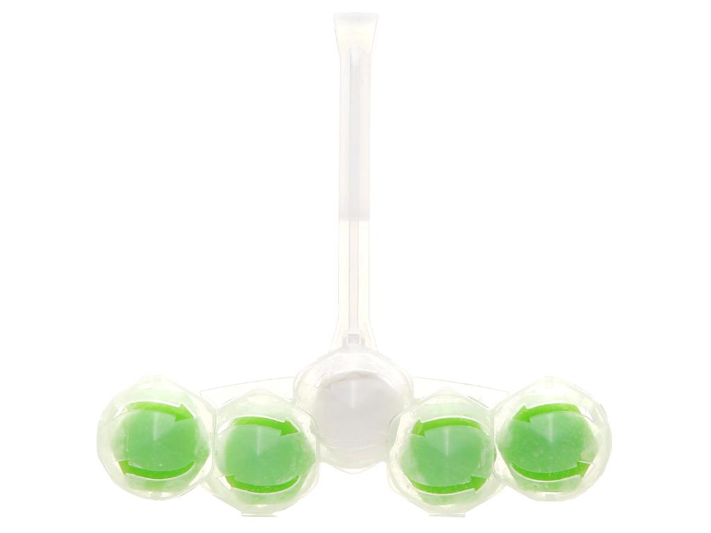 Viên vệ sinh bồn cầu VIM trà xanh và chanh vàng 55g 5