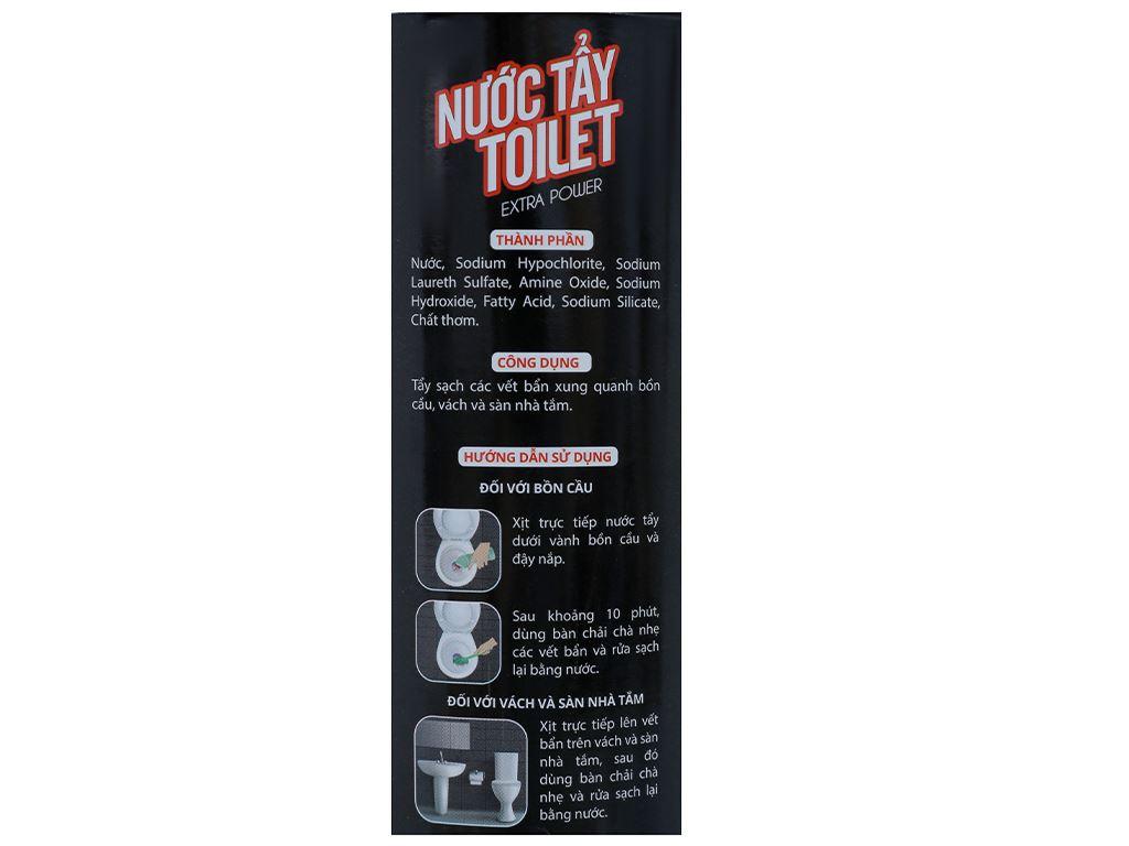 Nước tẩy toilet IZI HOME chai 900ml 4