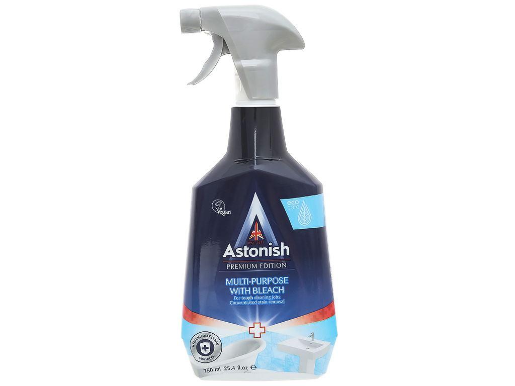 Nước tẩy rửa nhà vệ sinh Astonish chai 750ml 1