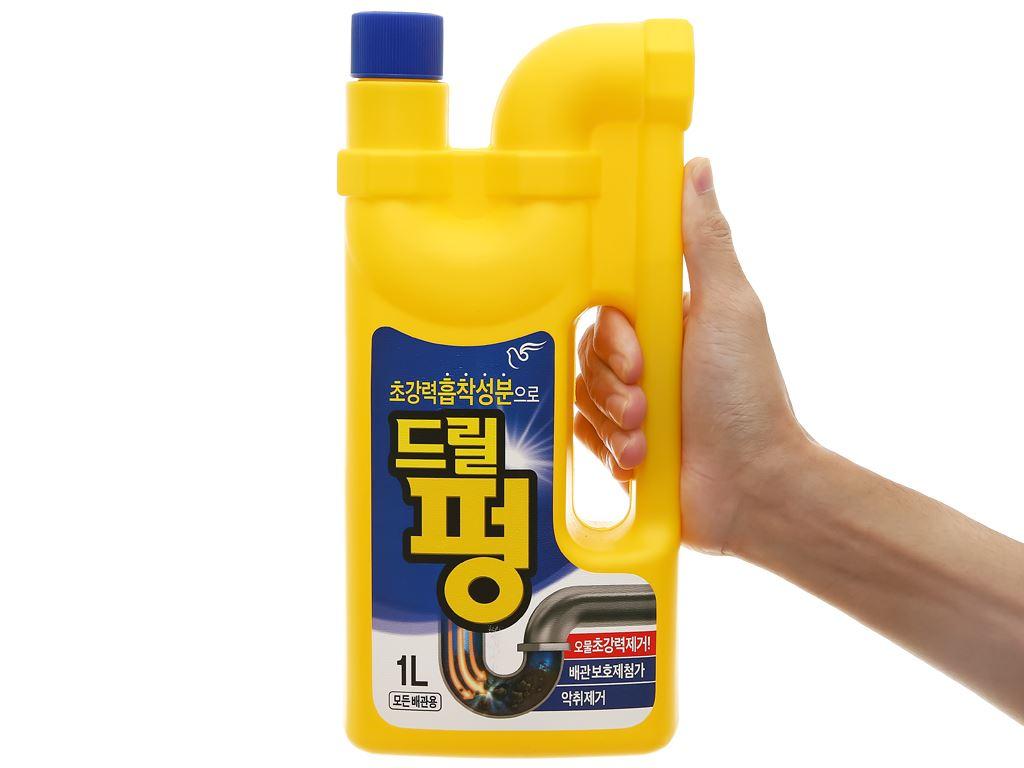 Nước thông tẩy đa năng Drill Pung chai 1 lít 4